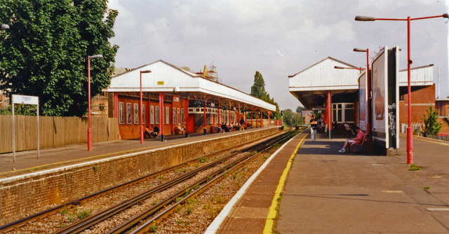 Kingston-on-Thames station, 1997