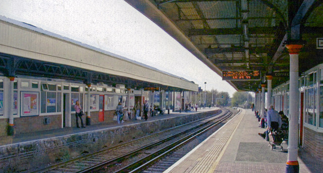 Kingston station, 2007