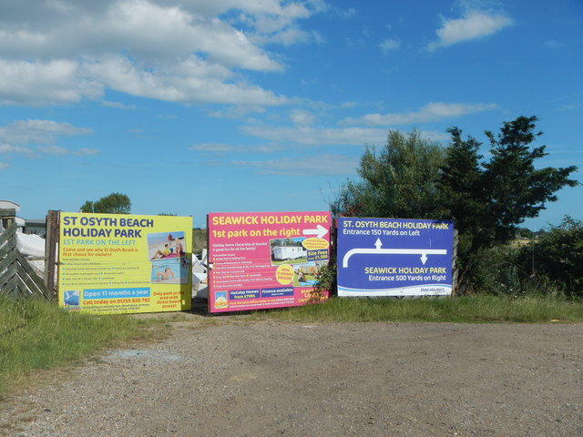 Holiday Park Signboards