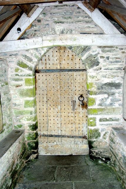 South door of St Mary Magdalene's Church