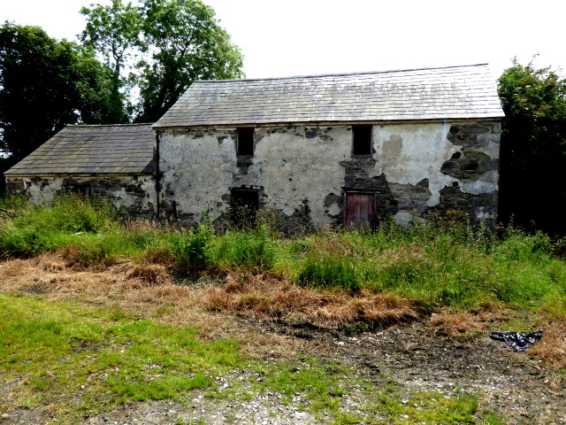 Derelict farm building, Creevy