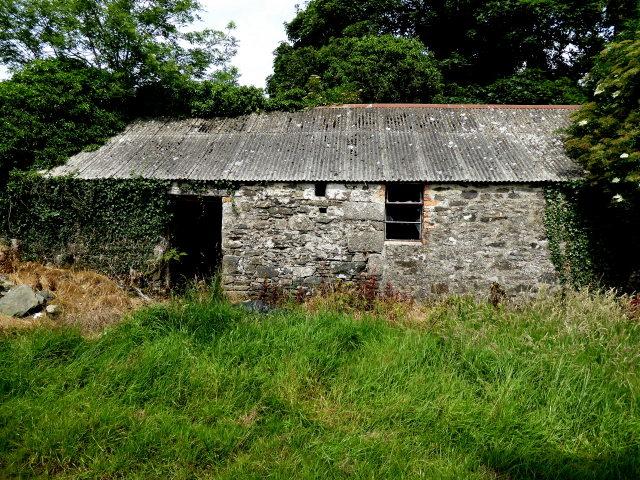Derelict farm building, Creevy