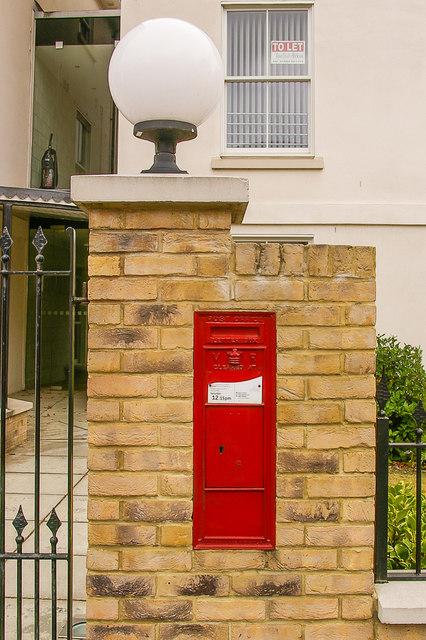 Victorian postbox