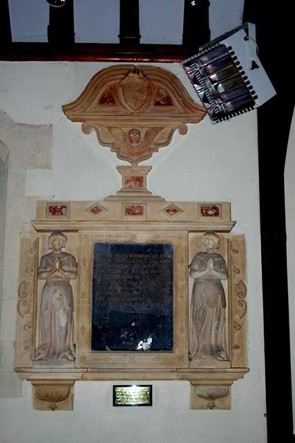 Monument to John & Catherine Price, 1597