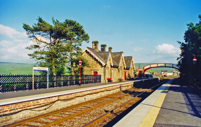 Kirkby Stephen (West) station, 2000