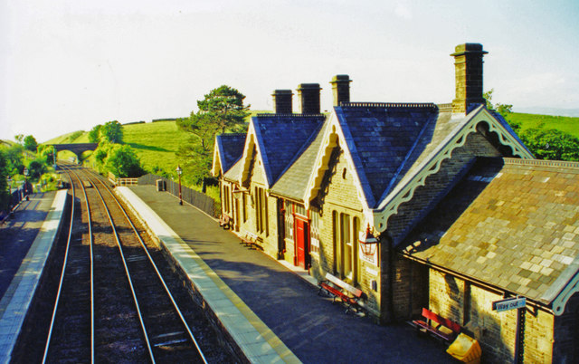 Kirkby Stephen (West) station, Down side 2000