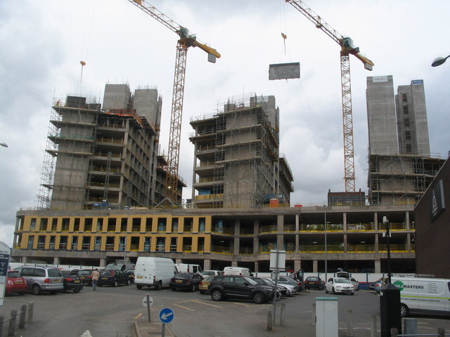 Construction work in Tower Street