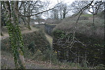 SX4859 : Ditches and defences, Crownhill Fort by N Chadwick