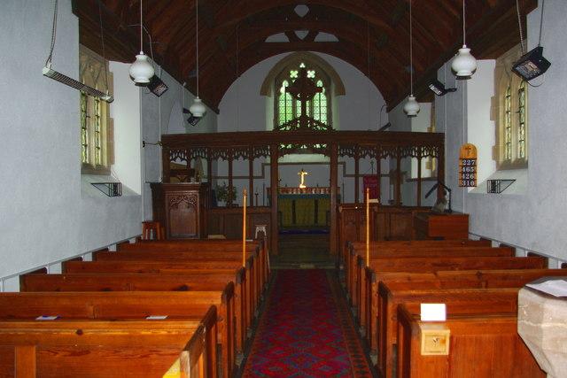 St David's Church in Heyope / Eglwys Llanddewi yn Hiob