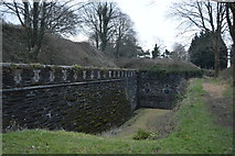 SX4859 : Ditch, Crownhill Fort by N Chadwick