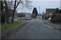 SX4859 : Road outside Crownhill Fort by N Chadwick