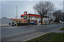 SX4859 : Texaco Filling Station by N Chadwick