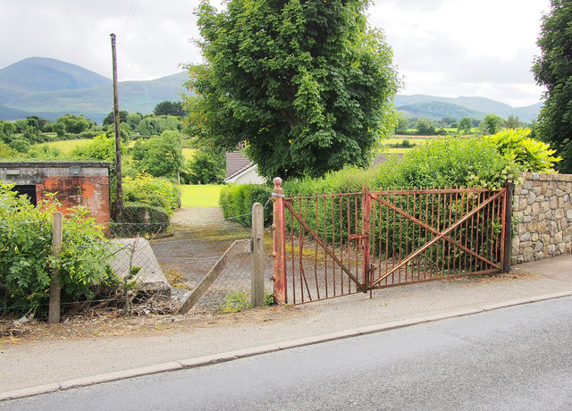 BWC gates near Bryansford