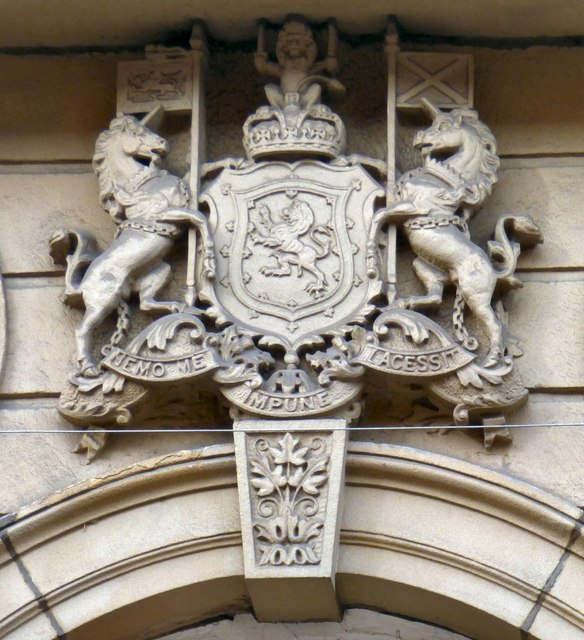 A Scottish coat of arms in Manchester