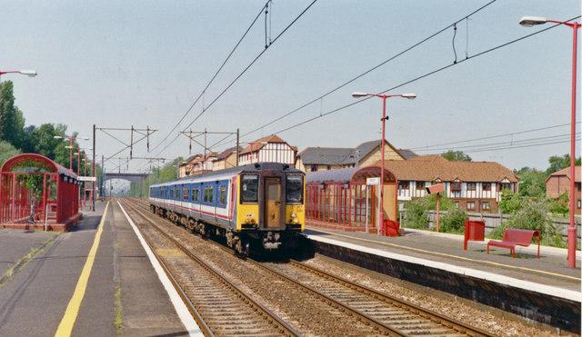 Knebworth station, 1992
