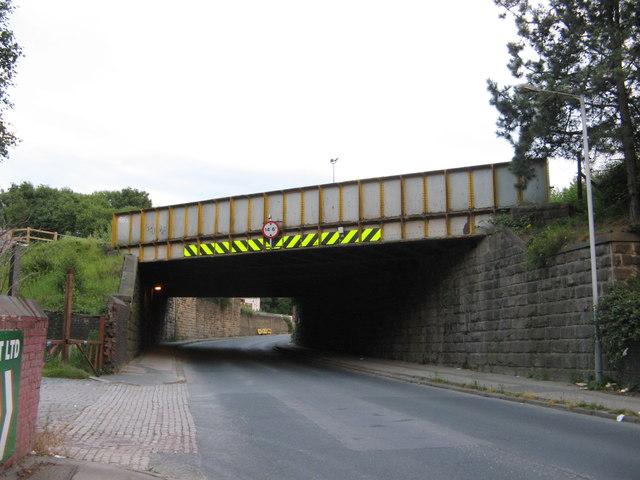 Railway Bridge LBE3/5, Hammerton Street