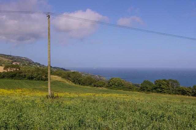 Field near St Lawrence