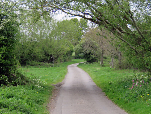 Sutton Lane towards Market Bosworth