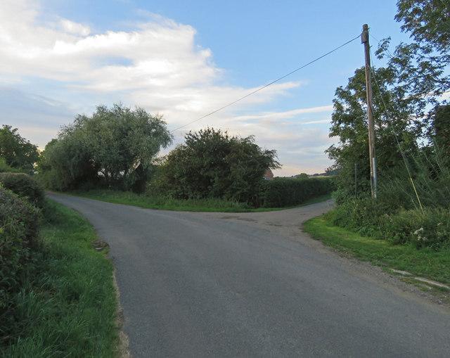 Pasture Lane towards Hose