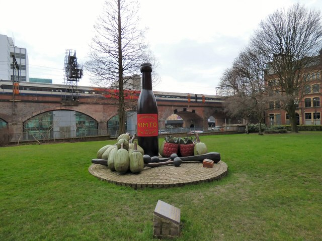 The Vimto Monument