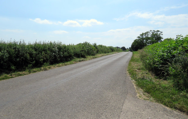 Station Road towards Gaddesby