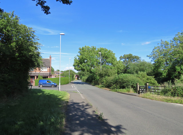 Kirby Lane passes the end of Edendale Road