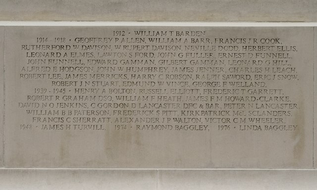 Woldingham War Memorial
