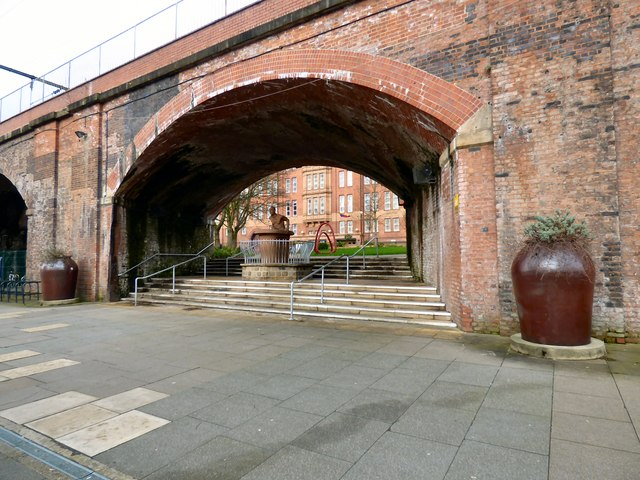 Archimedes under the arches