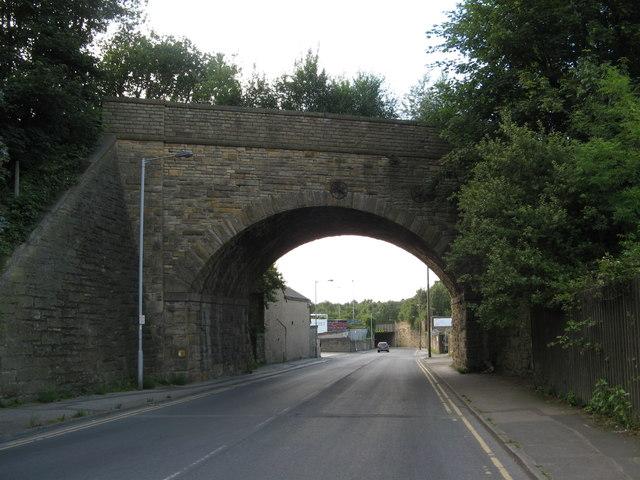 Disused Railway Bridge BRB DUH45, Hammerton Street