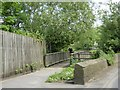 ST7867 : Footbridge over By Brook, Batheaston by David Smith