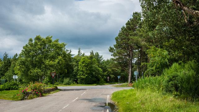 Junction near Culloden
