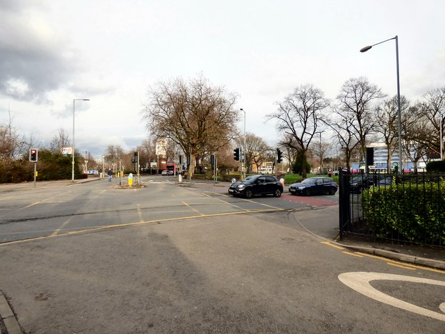 East Didsbury from Station Approach