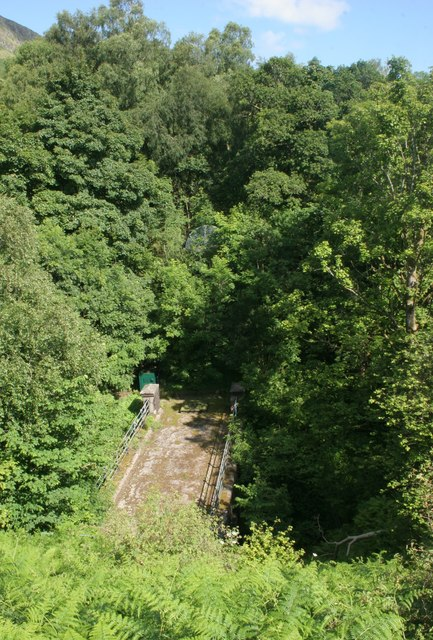 Ballewan Aqueduct bridge near Cantywheery