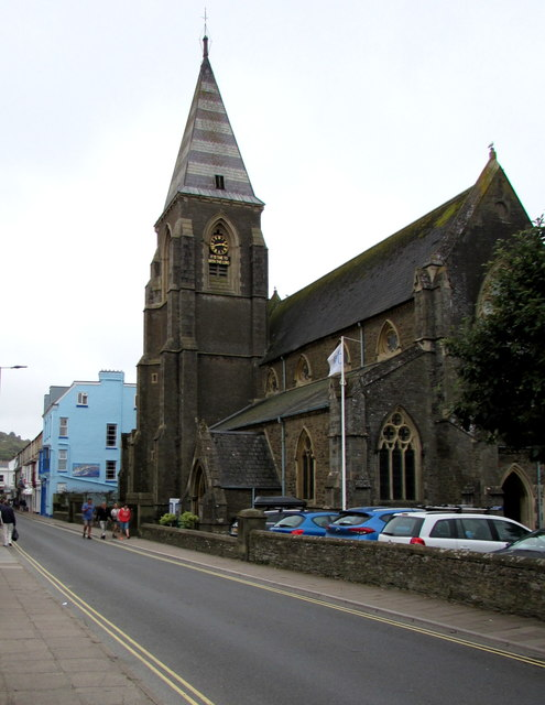 Parish Church of St Philip and St James, St James Place, Ilfracombe
