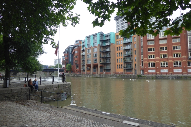 Floating Harbour near Bristol Bridge