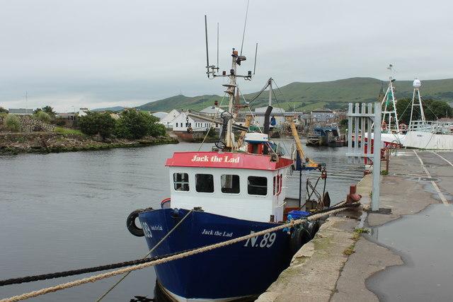 Jack the Lad, Girvan Harbour
