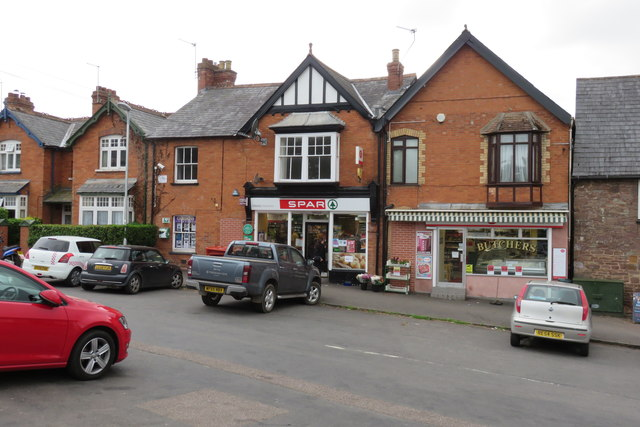 Silverton - the village shops