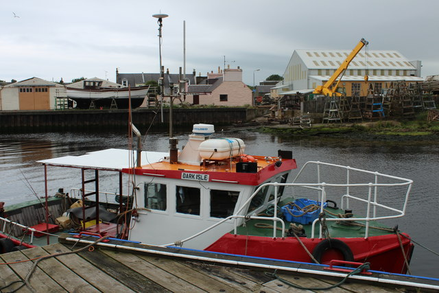 Dark Isle, Girvan Harbour