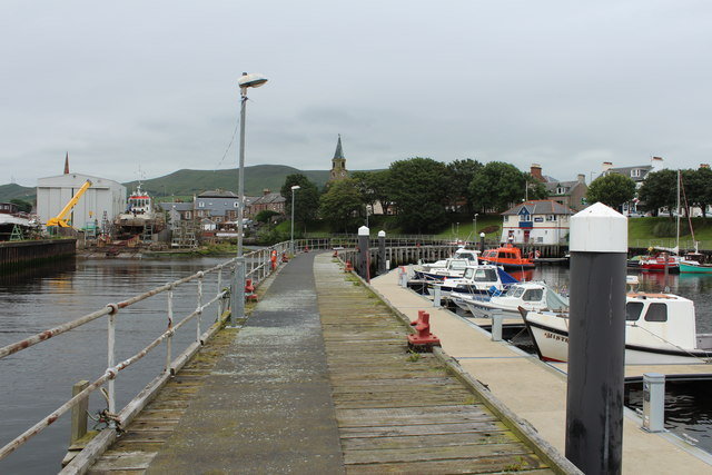 Jetty, Girvan Harbour