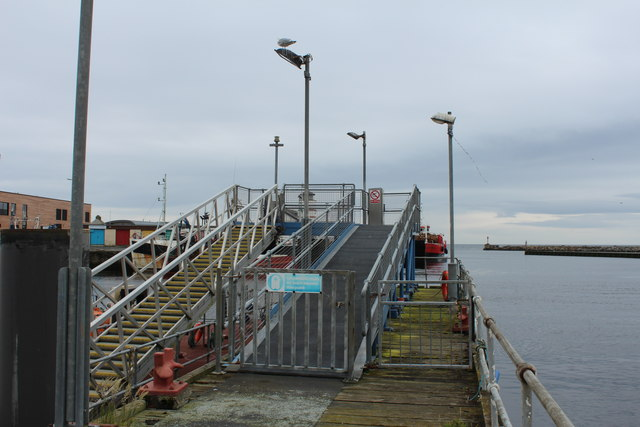 End of Jetty, Girvan Harbour