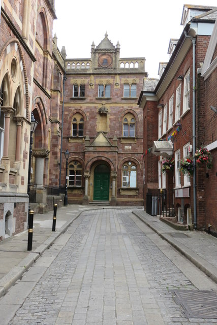 Street by Exeter Museum
