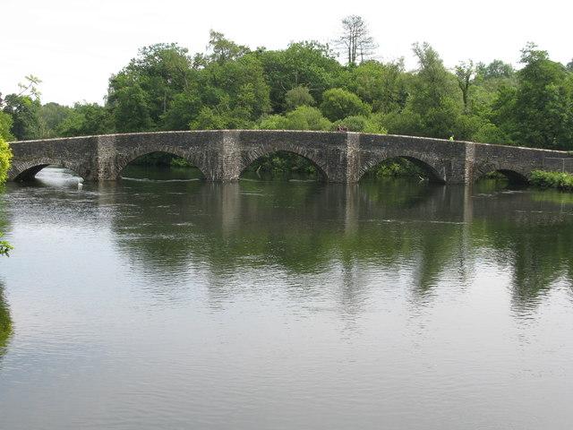 Road Bridge at Newby Bridge