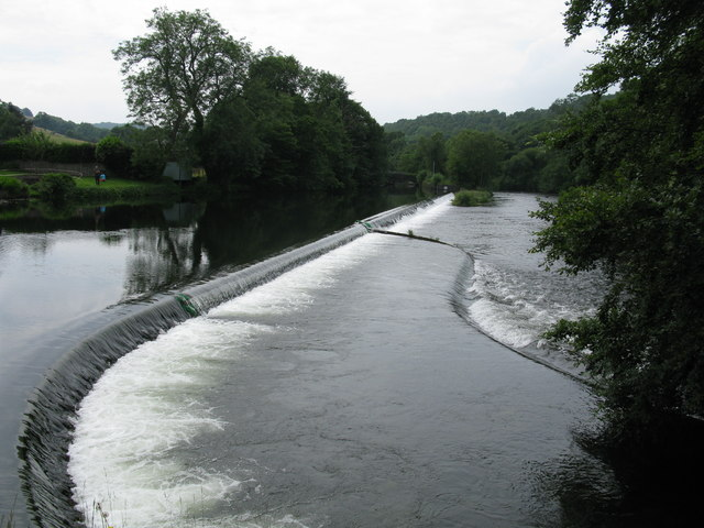 Weirs on the River Leven at Newby Bridge