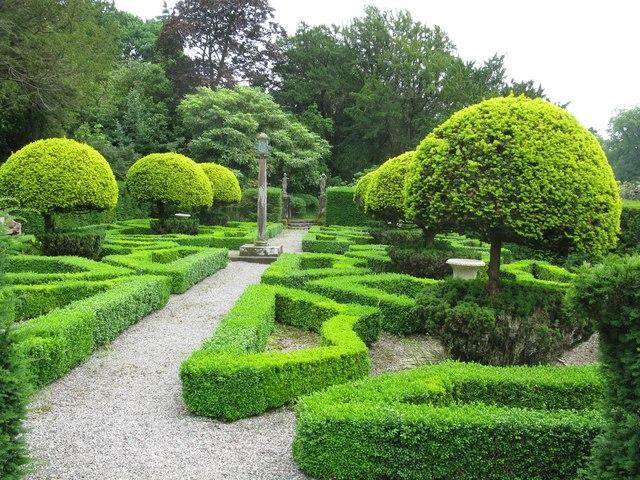 Dutch Garden, Graythwaite Hall