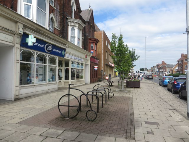 Cycle stands, Quay Road, Bridlington