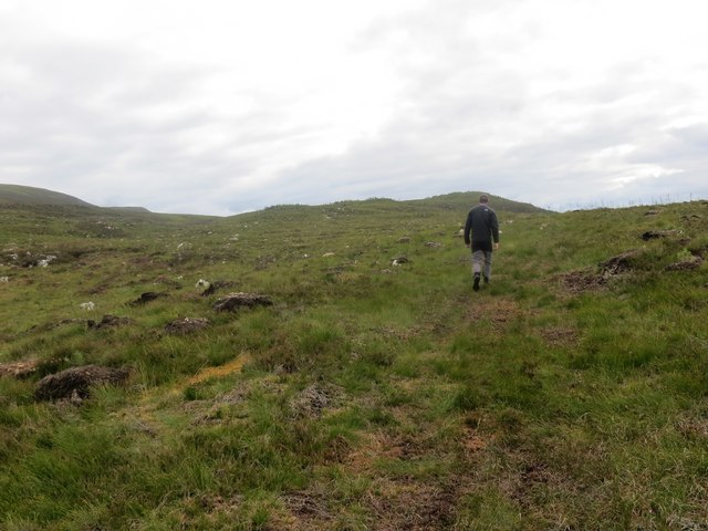 Moorland below Suidhe Ghuirmain
