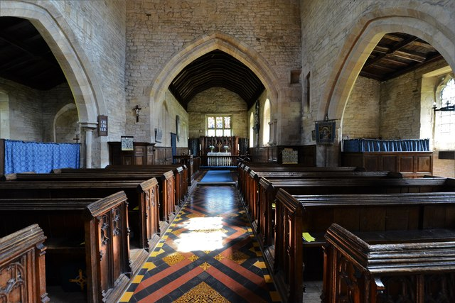 Buckland, St. Michael's Church: The nave