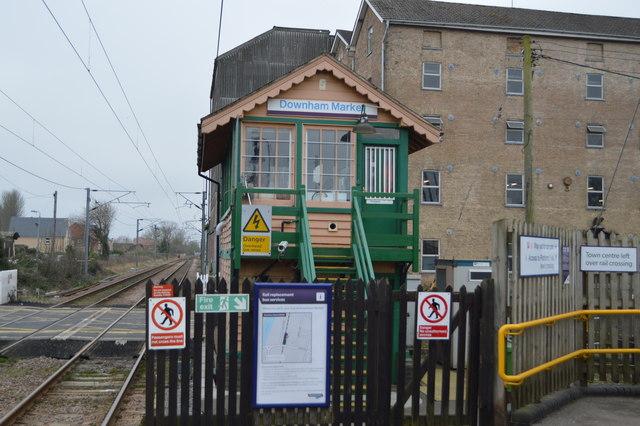 Downham Market Signalbox