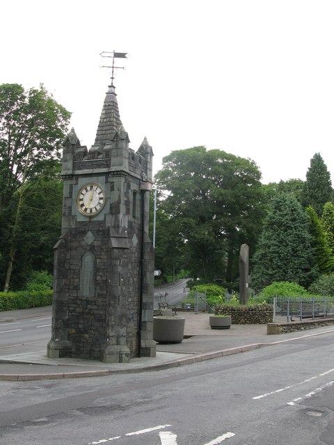 Baddeley Memorial Clock, Windermere