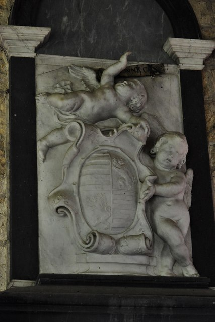 Buckland, St. Michael's Church: The James Thynne memorial
